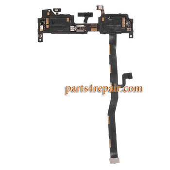 Microphone Flex Cable with Vibrator for Oneplus One