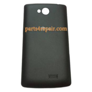 Back Cover for LG F60 D390N D392 -Black