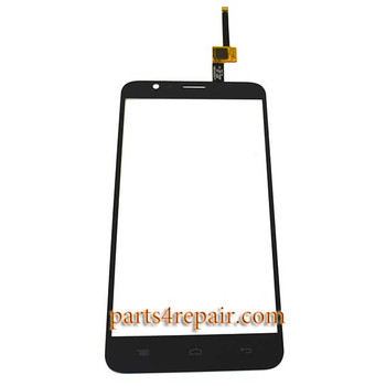 Touch Screen Digitizer for Alcatel OT-6042D (Refurbished) -Black