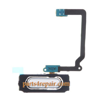 Home Button with Flex Cable for Samsung Galaxy S5 mini -White