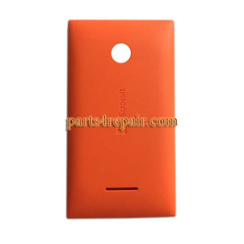 Back Cover with Side Keys for Microsoft Lumia 435 -Orange