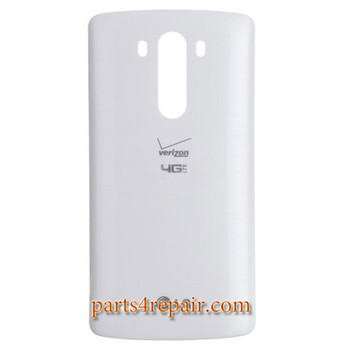 Back Cover with NFC for LG G3 VS985 (for Verizon) -White