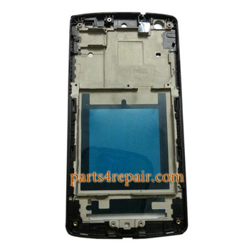 We can offer Front Housing Cover with Adhesive for LG Nexus 5 D820