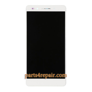 Complete Screen Assembly with Bezel for Huawei Honor 7 -White