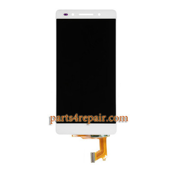 Complete Screen Assembly for Huawei Honor 7 -White