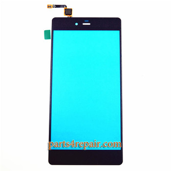 Touch Screen Digitizer for ZTE Nubia Z9 Max NX510J -Black