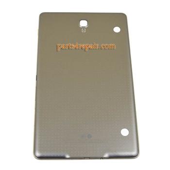Back Housing Cover for Samsung Galaxy Tab S 8.4 T705 (3G Version) -Titanium Bronze