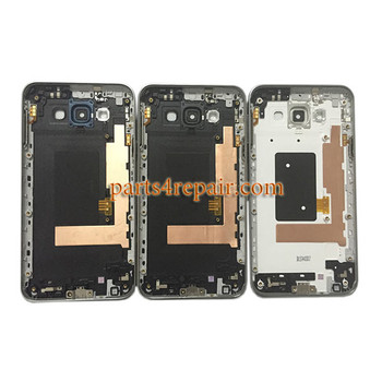 Back Housing Cover with Side keys for Samsung Galaxy E7 SM-E700 -Blue
