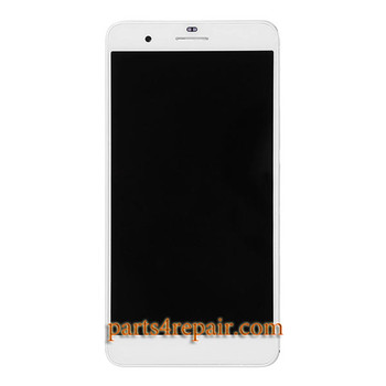 Complete Screen Assembly with Bezel for Huawei Honor 6 Plus from www.parts4repair.com