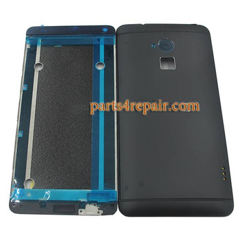 Full Housing Cover for HTC One Max from www.parts4repair.com