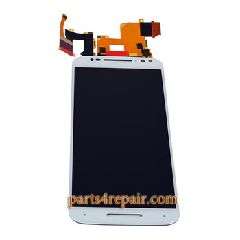 Complete Screen Assembly for Motorola Moto X Style XT1572 XT1575 -White