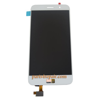Complete Screen Assembly for Lenovo ZUK Z1 -White