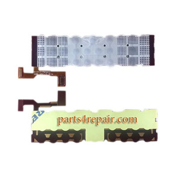 Keypad Membrane Ribbon for BlackBerry Passport (BlackBerry Q30) from www.parts4repair.com