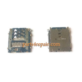 SD/SIM Card Reader for Samsung Galaxy A3 A5 A7 from www.parts4repair.com