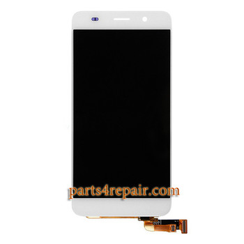 Complete Screen Assembly for Huawei Honor 4A -White