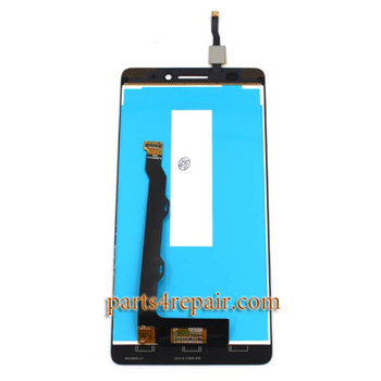 Complete Screen Assembly for Lenovo K3 Note (K50-T5) -White