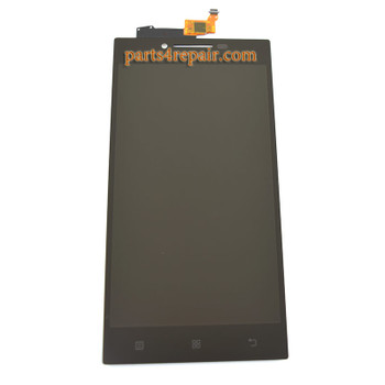 Complete Screen Assembly for Lenovo P70 -Black