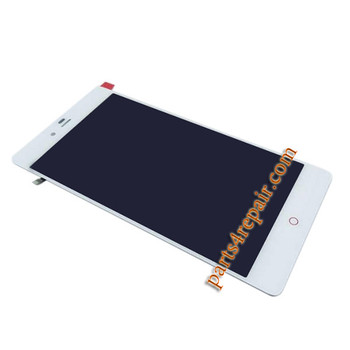 Complete Screen Assembly for ZTE Nubia Z9 Max NX510J -White