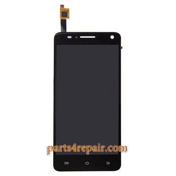Complete Screen Assembly for BQ Aquaris 5.7 -Black