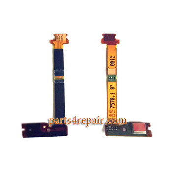 Microphone Flex Cable for Sony Xperia Z5 Compact (Z5 mini) from www.parts4repair.com