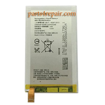 2300mAh Built-in Battery for Sony Xperia E4