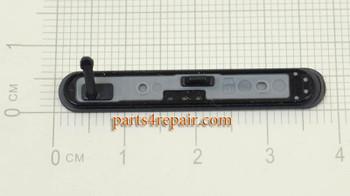 SIM Card Cover for Sony Xperia Z5 Compact (Z5 mini) -Black