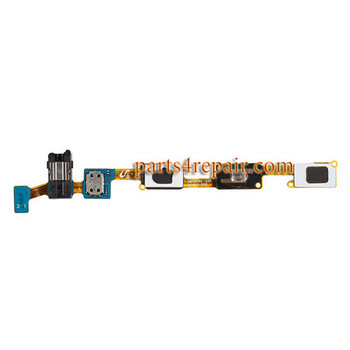 Home Flex Cable with Earphone Jack for Samsung Galaxy J7 from www.parts4repair.com