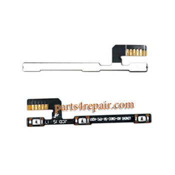 Side Key Flex Cable for Lenovo A10-70 A7600 from www.parts4repair.com
