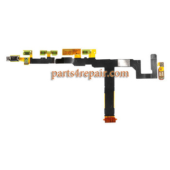 Sony Xperia Z5 mini Side Key Flex Cable