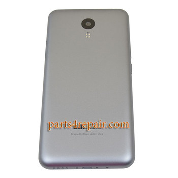 Back Housing Cover with Side Keys for Meizu M2 Note -Gray