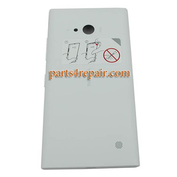 Full Housing Cover OEM for Nokia Lumia 730 -White
