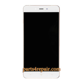 Complete Screen Assembly with Bezel for OnePlus X from www.parts4repair.com