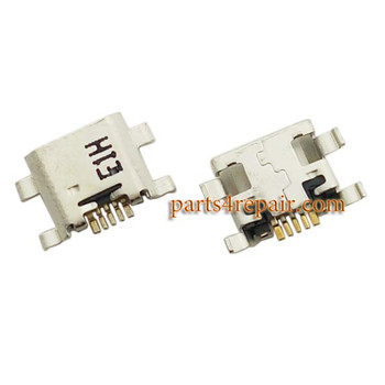 Dock Charging Port for ZTE Nubia Z9 Max NX510J / Z9 mini NX511J -5pcs