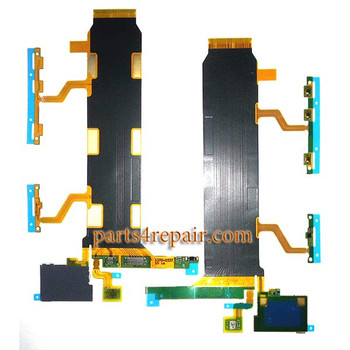 Flex Cable for Sony Xperia Z Ultra XL39 C6802 3G from www.parts4repair.com