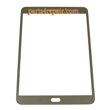 Front Glass for Samsung Galaxy Tab S2 8.0 T710 for WIFI -Gold