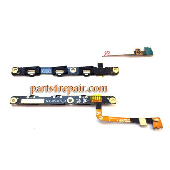 Power Flex Cable for ZTE Nubia Z7 Max NX505J from www.parts4repair.com