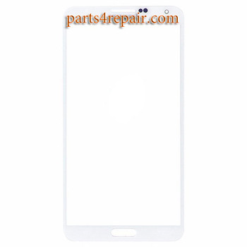 Front Glass for Samsung Galaxy Note 3 Neo -White