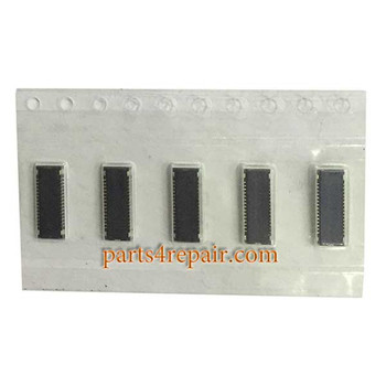 30pin LCD FPC Connector for LG G2 from www.parts4repair.com
