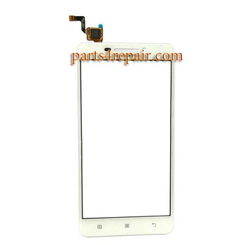 Touch Screen Digitizer for Lenovo A5000 - White