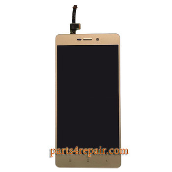 Complete Screen Assembly for Xiaomi Redmi 3 from www.parts4repair.com
