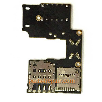 SIM Connector Board for Motorola Moto G (3rd Gen) from www.parts4repair.com