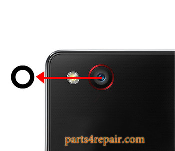 Camera Glass Lens with Adhesive for ZTE Nubia Z9 mini NX511J from www.parts4repair.com