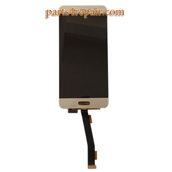 Complete Screen Assembly for Xiaomi Mi 5 -Gold