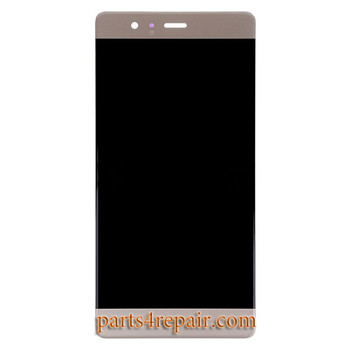 Complete Screen Assembly for Huawei P9 -Gold