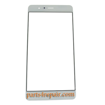 Front Glass for Huawei Honor V8 -White