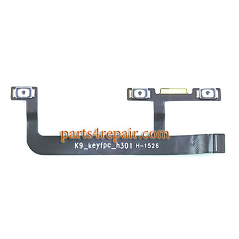 Side Key Flex Cable for Lenovo Zuk Z1 from www.parts4repair.com