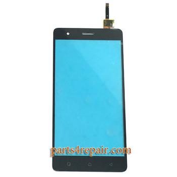 Touch Screen Digitizer for Lenovo K5 Note -Black