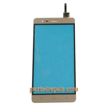 Touch Screen Digitizer for Lenovo K5 Note -Gold