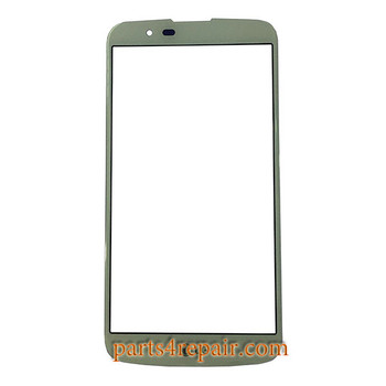 Front Glass OEM for LG K10 -White