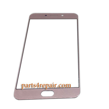 Front Glass OEM for Oppo R9 -Rose Gold